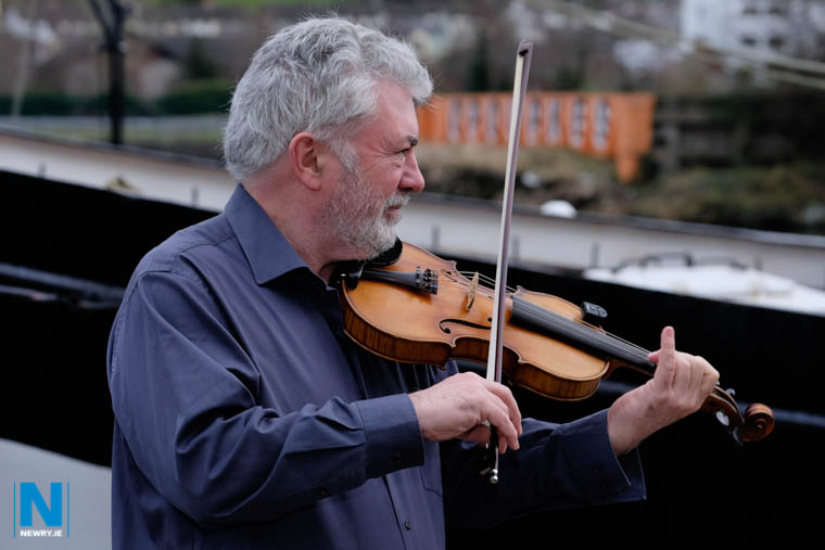 Fiddle player Gerry O'Connor